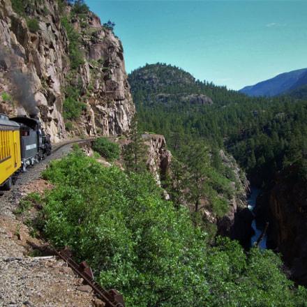 Colorado Mountain Train, Nikon COOLPIX L4
