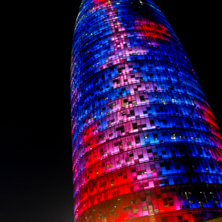 Agbar Tower - Barcelona, Fujifilm FinePix S1000fd
