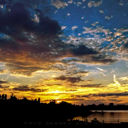 Sunset, Fujifilm XQ2