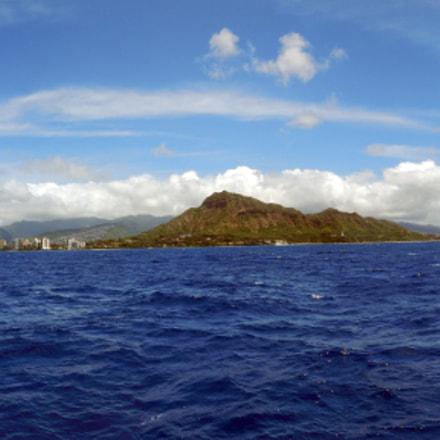 PANO of Waikiki and, Nikon COOLPIX AW130