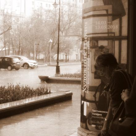 Moscow. May. Rain, Panasonic DMC-FX500