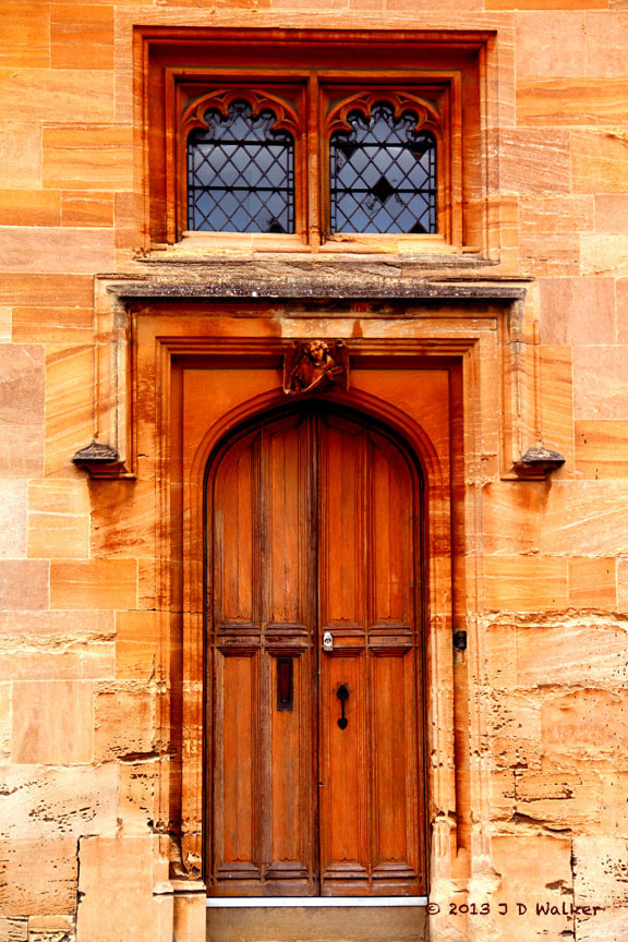 Photograph Oxford Door by Jim Walker on 500px