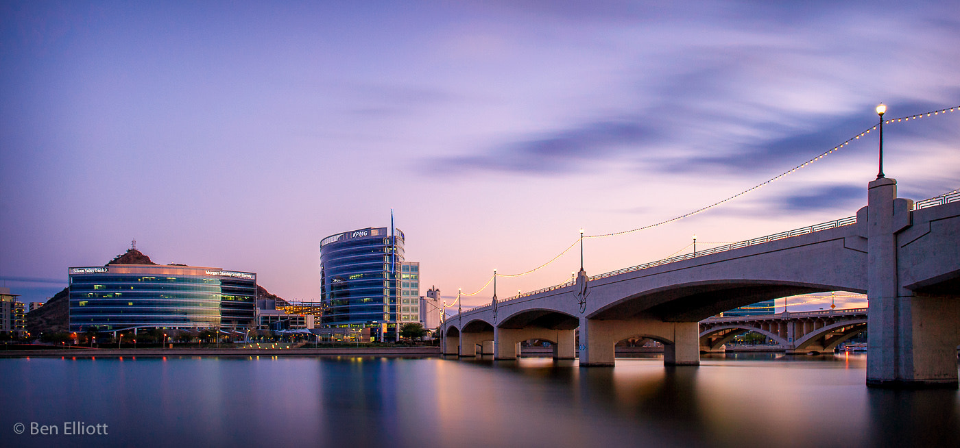 Photograph Tempe Town Twilight by Ben Elliott on 500px
