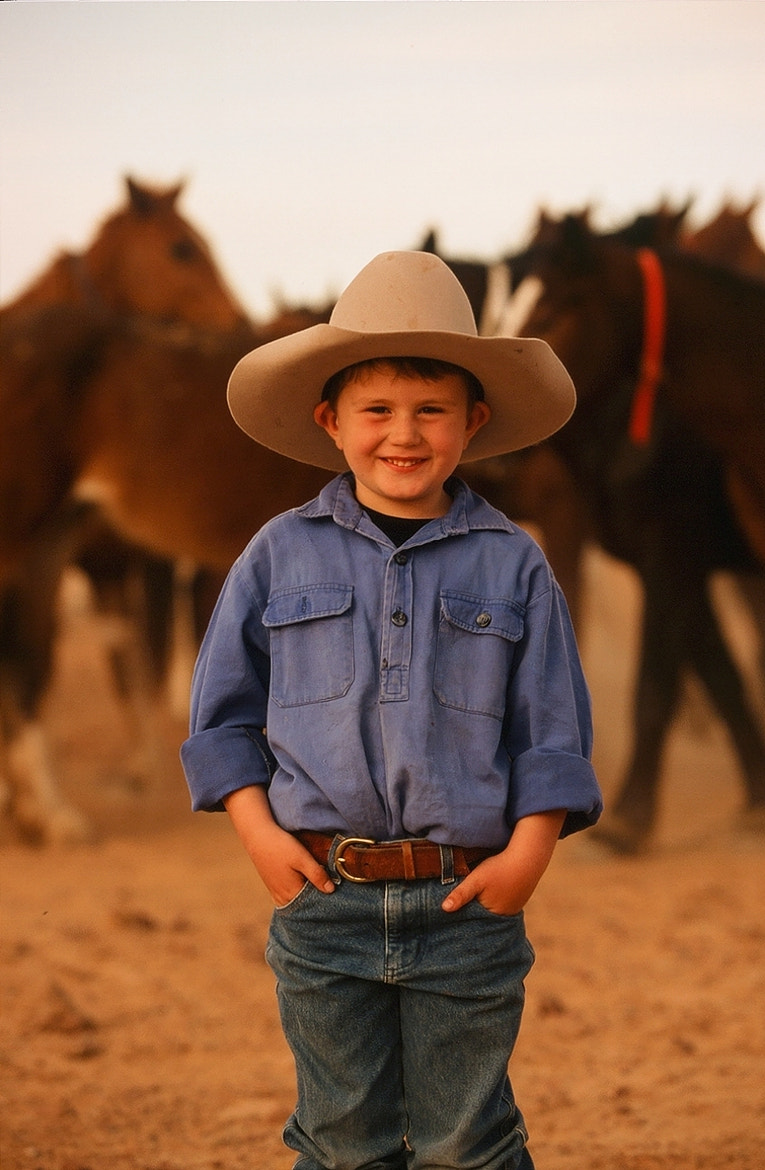 Photograph Young Cowboy by Peter Fisher on 500px