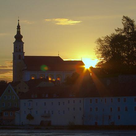 Sunrise in Schärding, Canon EOS 750D