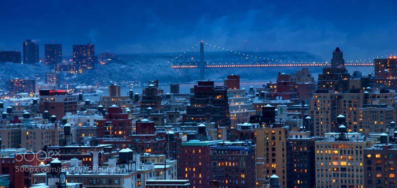 Photograph Snowy New York by Dan Goldberger on 500px