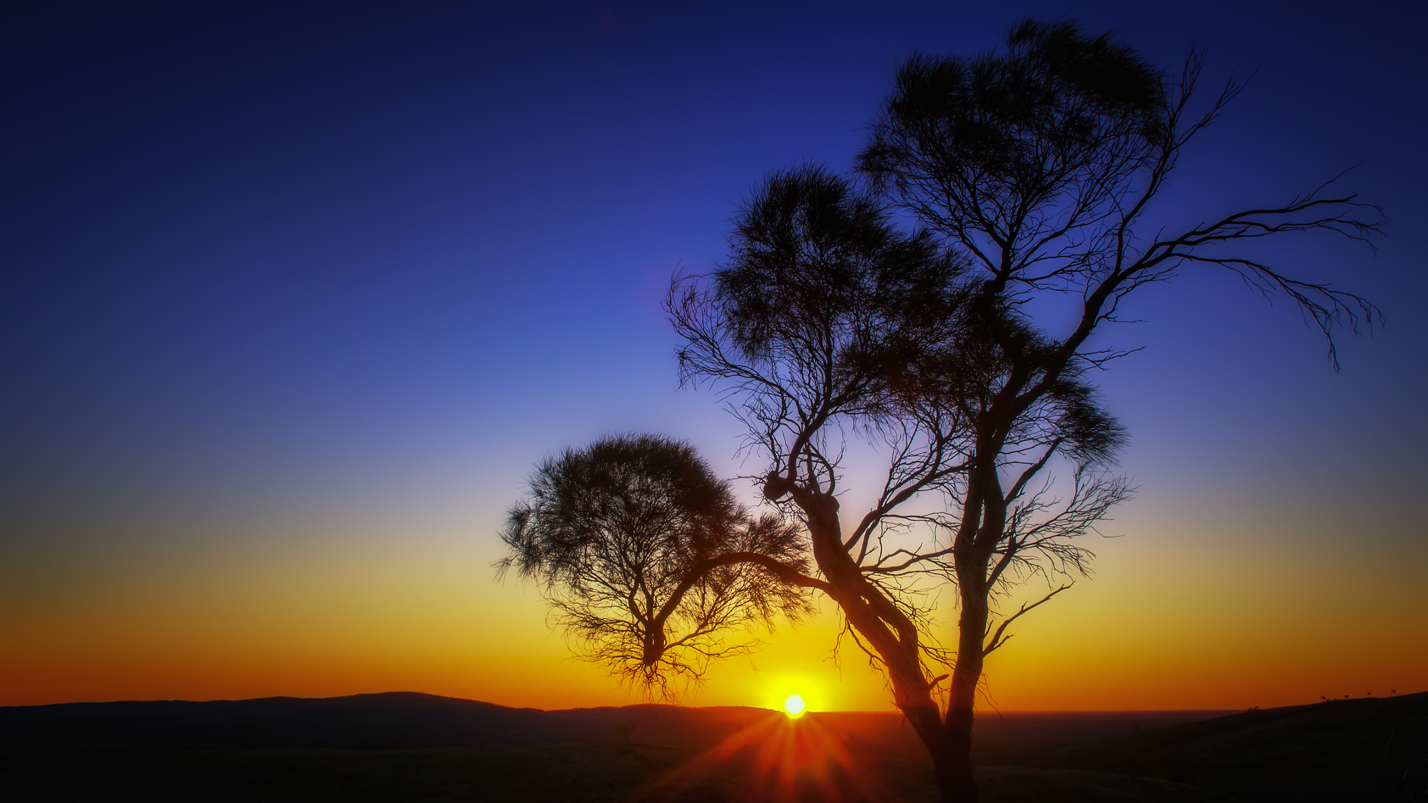 Photograph Outback Sunset by PaulEmmingsPhotography  on 500px