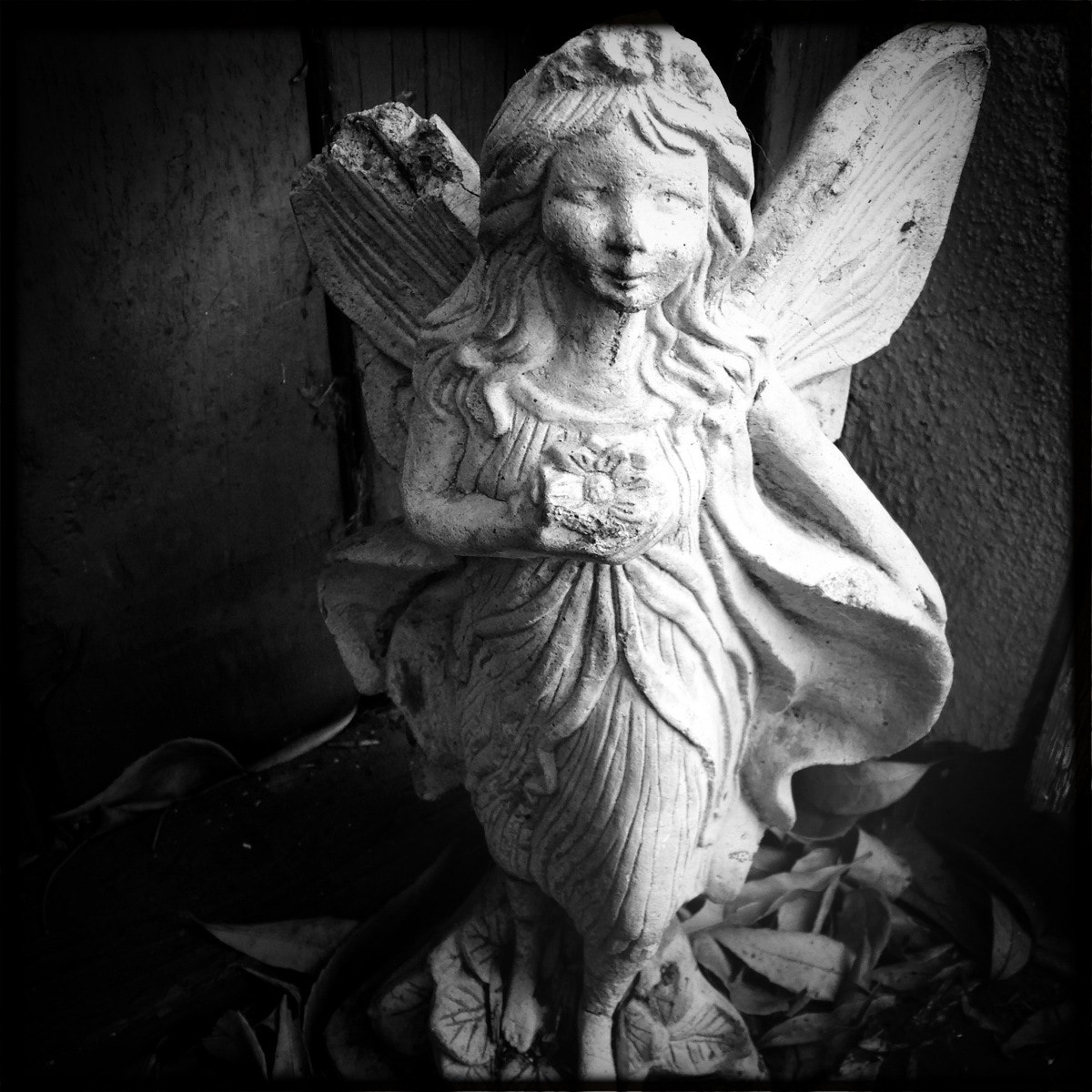 Photograph Angel Statue BW by Michelle Darensbourg on 500px