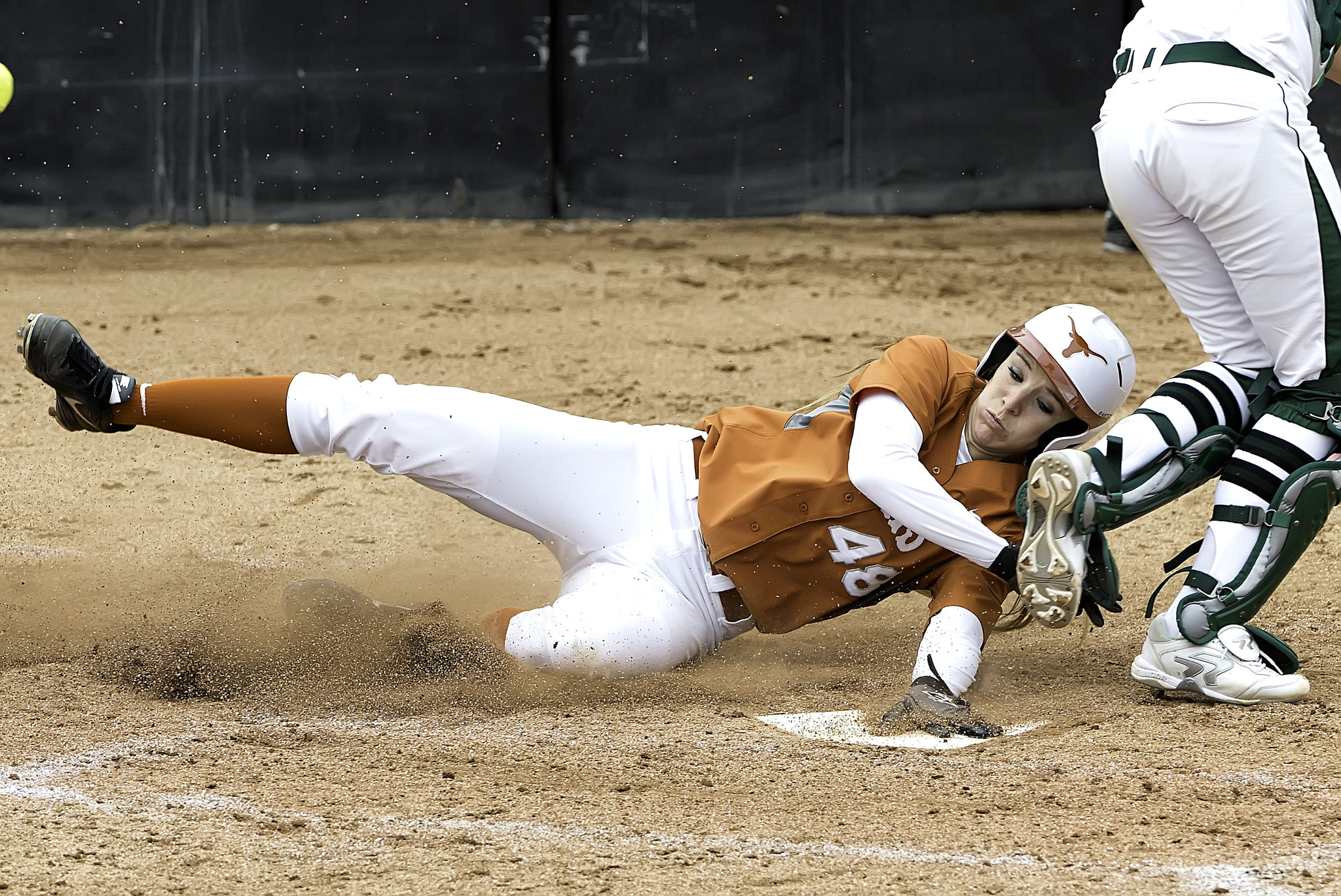 Photograph UT Softball Slide by AustinPixels   on 500px