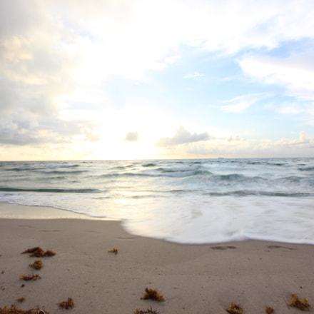 Singer island beach blur, Canon EOS 600D, Canon EF-S 10-22mm f/3.5-4.5 USM