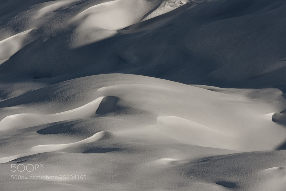 Photograph Waves in the snow by giorgio debernardi on 500px