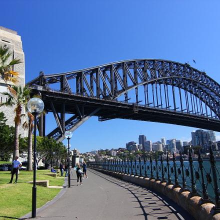 Sydney bridge, Canon EOS 550D, Tokina AT-X 116 AF Pro DX 11-16mm f/2.8