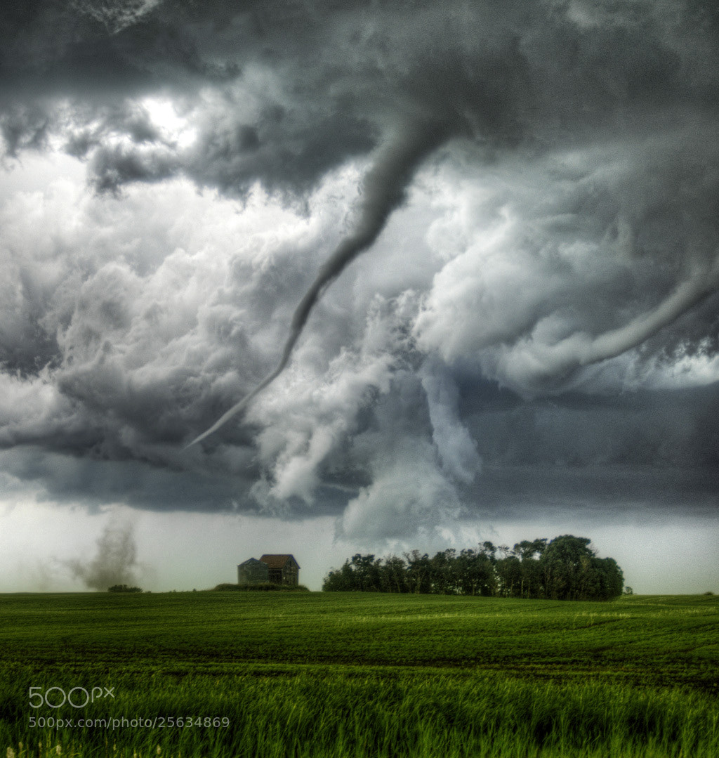 Photograph Loreburn, Saskatchewan, Canada Tornado (Color) by Robert Edmonds on 500px