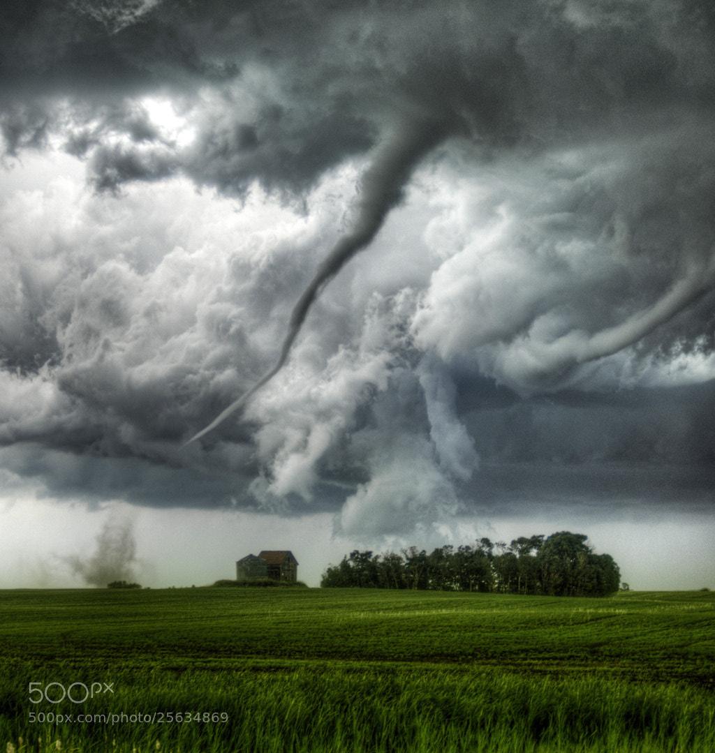 Photograph Loreburn, Saskatchewan, Canada Tornado (Color) by Robert Edmonds on 500px