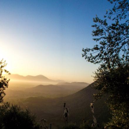 Sunrise Skyline, Fujifilm FinePix S1800