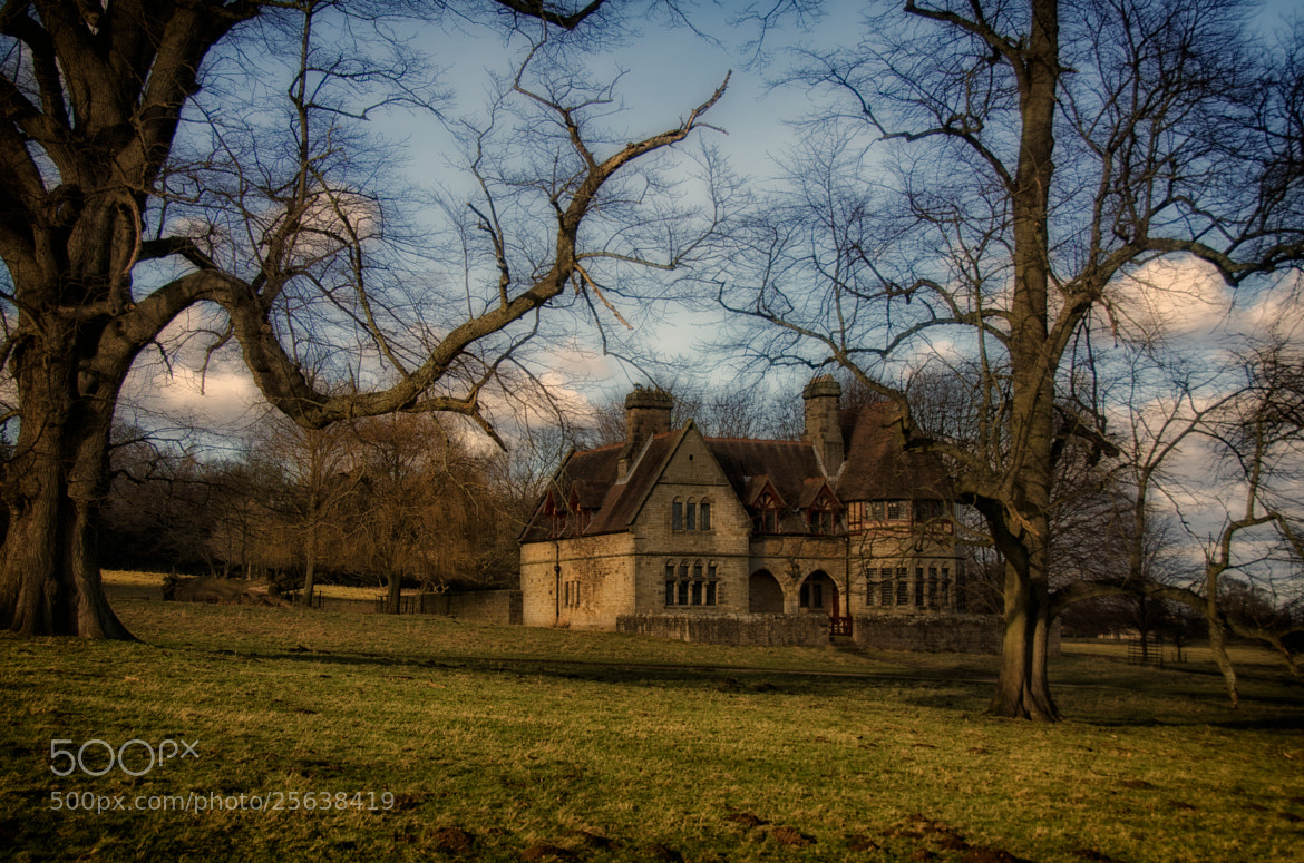 Photograph The Old House In The Park by Phil Robson on 500px