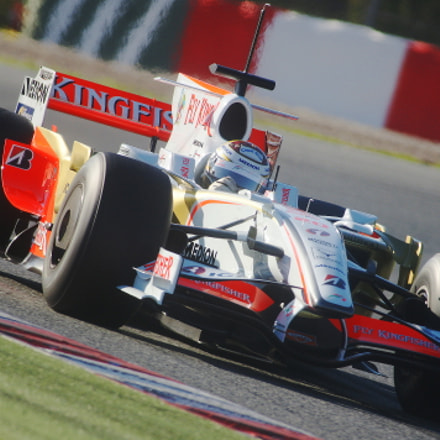 Adrian   Sutil   force  India, Sony DSLR-A700