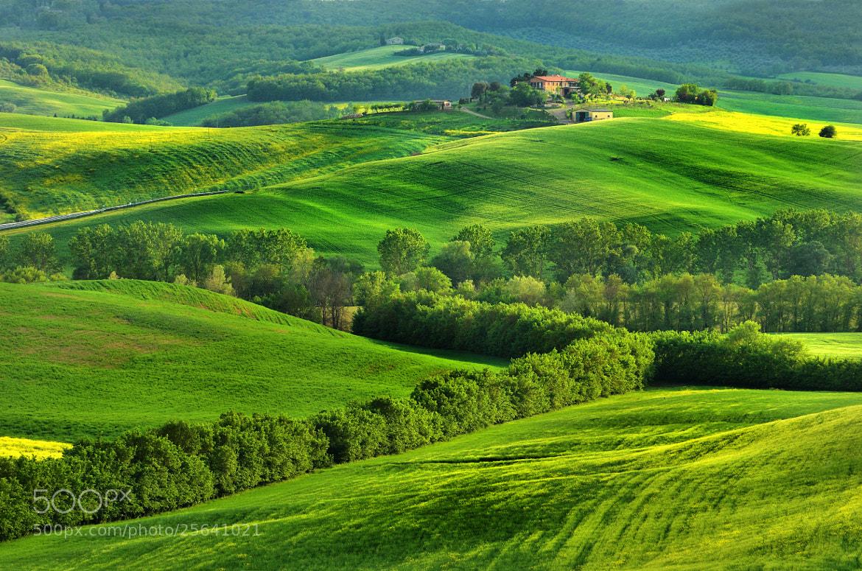 Photograph Toscan Farm by Csilla Zelko on 500px