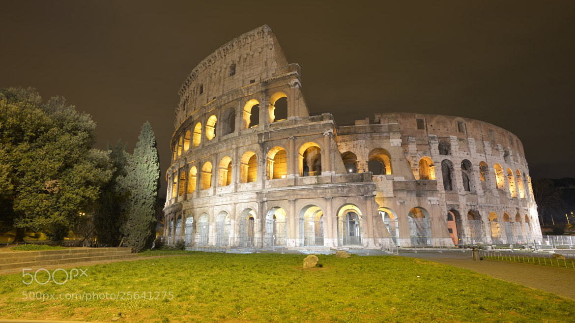 Photograph The Colosseum in Rome by Angelo Ferraris on 500px