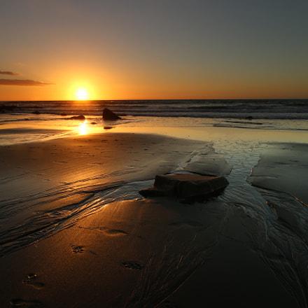 Back Beach Sunset, Canon EOS 70D, Canon EF-S 10-22mm f/3.5-4.5 USM