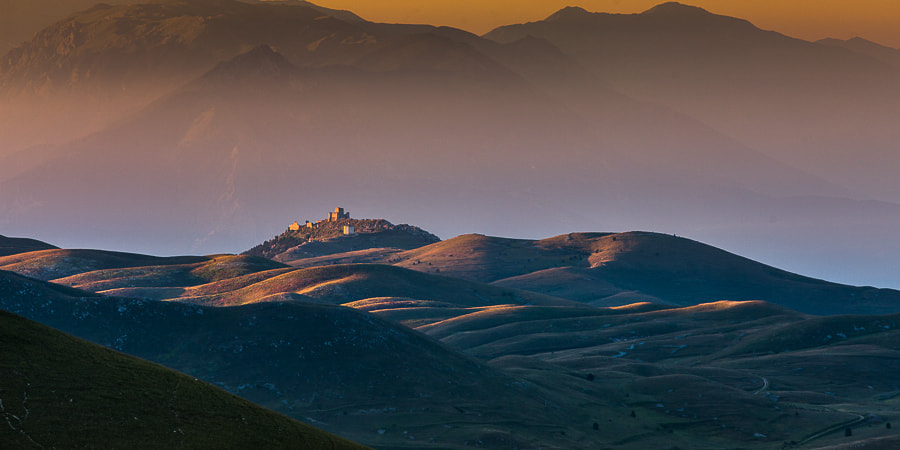 Photograph Morning Light over the Old Castle by Hans Kruse on 500px