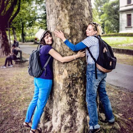 Tree kissing, Sony DSC-S2000