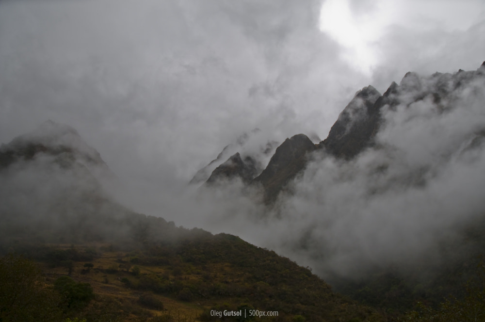 Photograph Andes in the Clouds by Oleg Gutsol on 500px