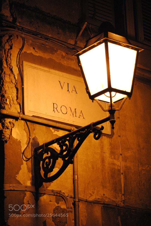 Photograph Via Roma by Enrico Baldo on 500px