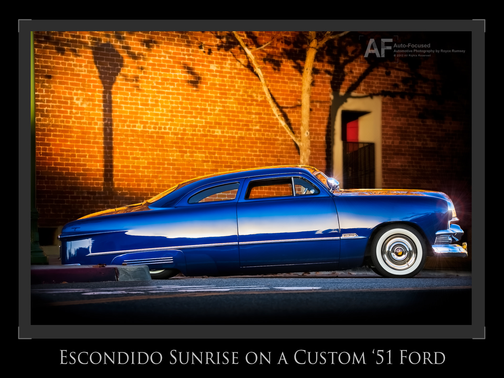 Photograph Custom '51 Ford at dawn in Escondido by Royce Rumsey on 500px