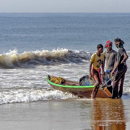 Saliendo a la mar., Sony DSC-W730
