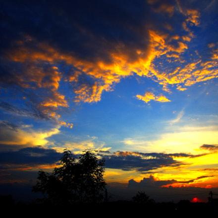 Sunset in my hometown, Pentax K-5 II S, Sigma 17-50mm F2.8 EX DC HSM