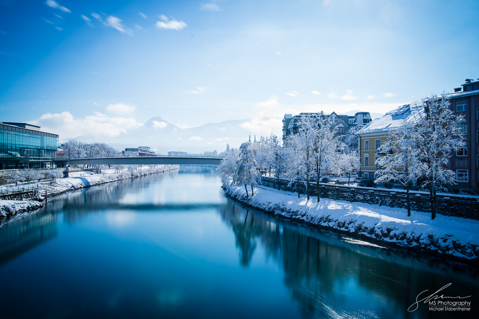 Photograph Ice cold city  by Michael Stabentheiner on 500px