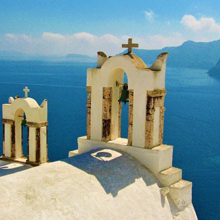 Santorini, Greece, Canon POWERSHOT A530