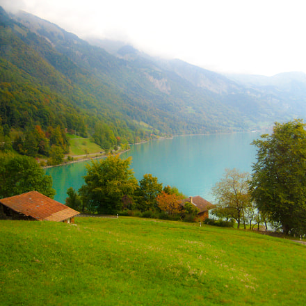 The Calm Lake Brienz, Canon DIGITAL IXUS 75