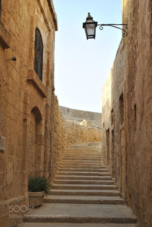 Photograph Scorcio della Cittadella di Rabat by Enrico Baldo on 500px