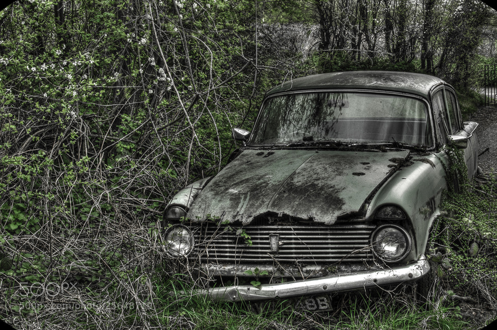 Photograph Hillman ( not so super ) Minx by Mike Janik on 500px