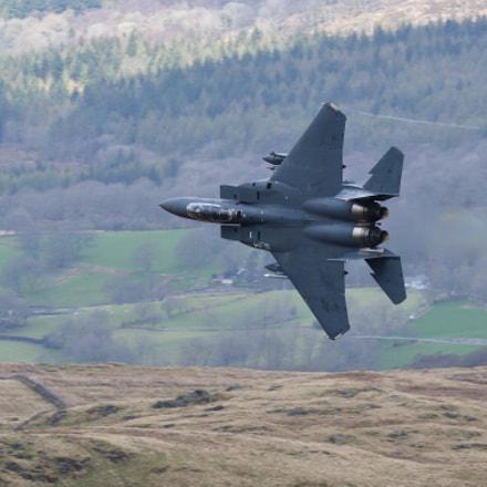 F15E Strike Eagle, Nikon D500, AF-S VR Nikkor 300mm f/2.8G IF-ED II