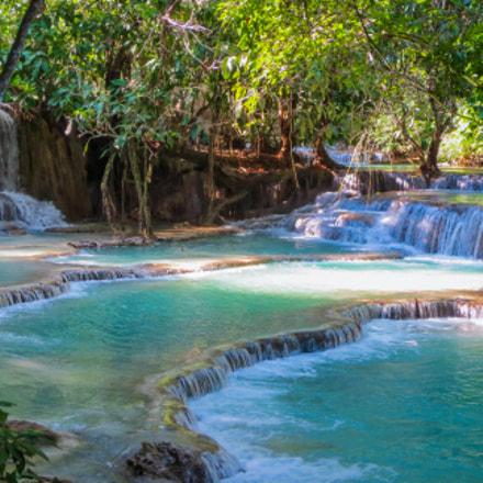 Kuang Si Falls, Canon IXUS 125 HS