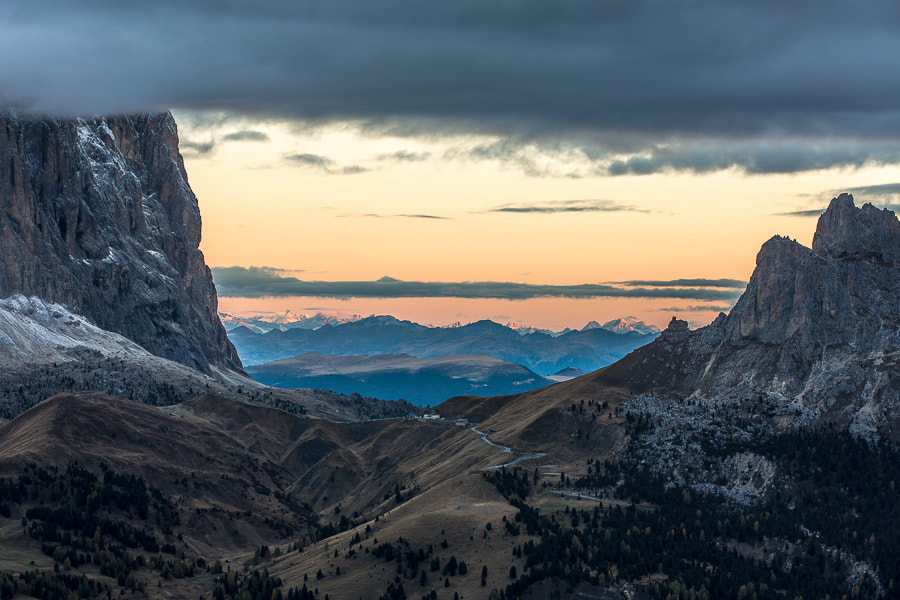 Photograph Passo Sella in Morning Light by Hans Kruse on 500px