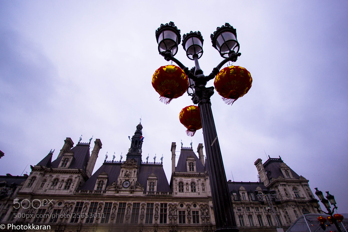Photograph Hotel de Ville on the day of Chinese New Year Parade by Photokkaran PK on 500px