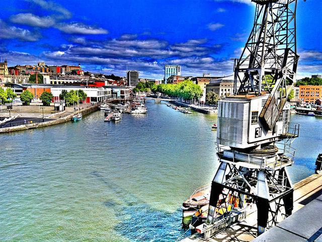 Photograph Bristol Floating Harbour HDR by Nick Holmes on 500px