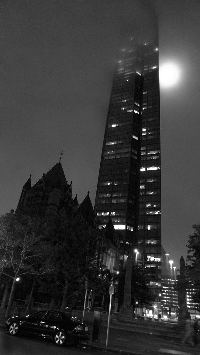 Photograph Copley Square's Full Moon! by Francisco Marty on 500px