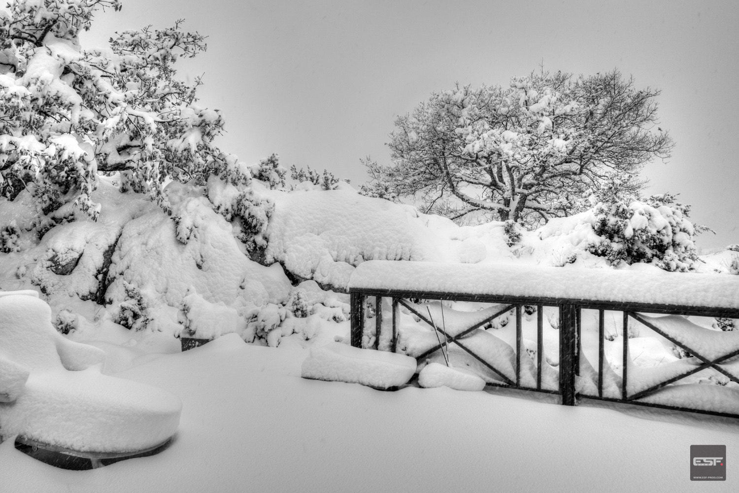 Photograph Snow at Levens-1 by Eric Soulier on 500px