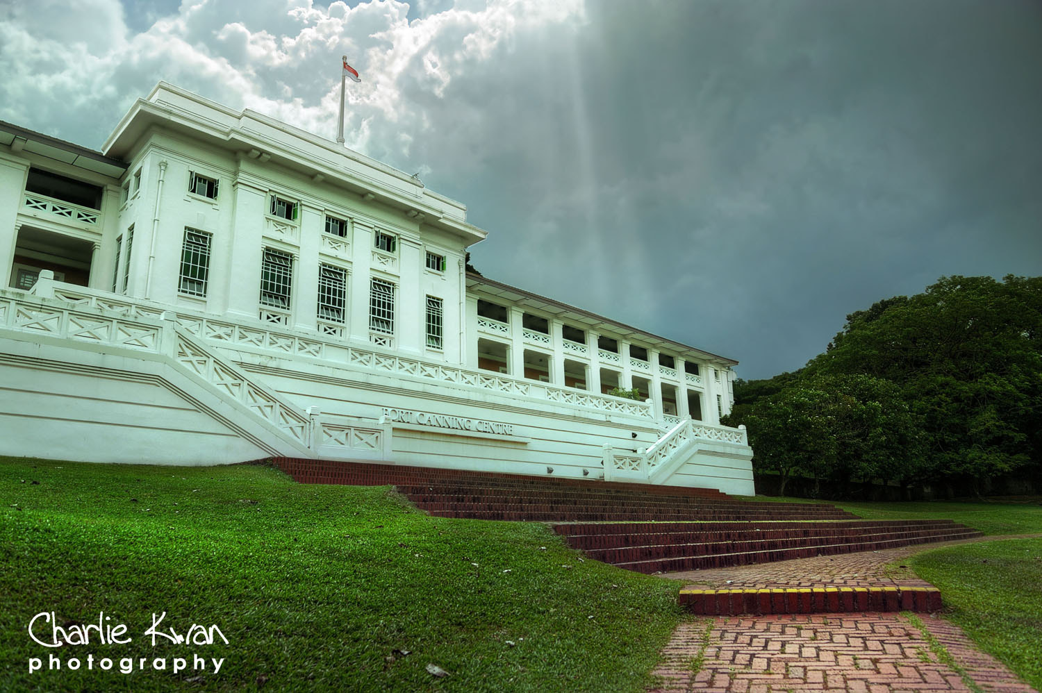 Photograph Fort Canning Centre by Charlie Kwan on 500px