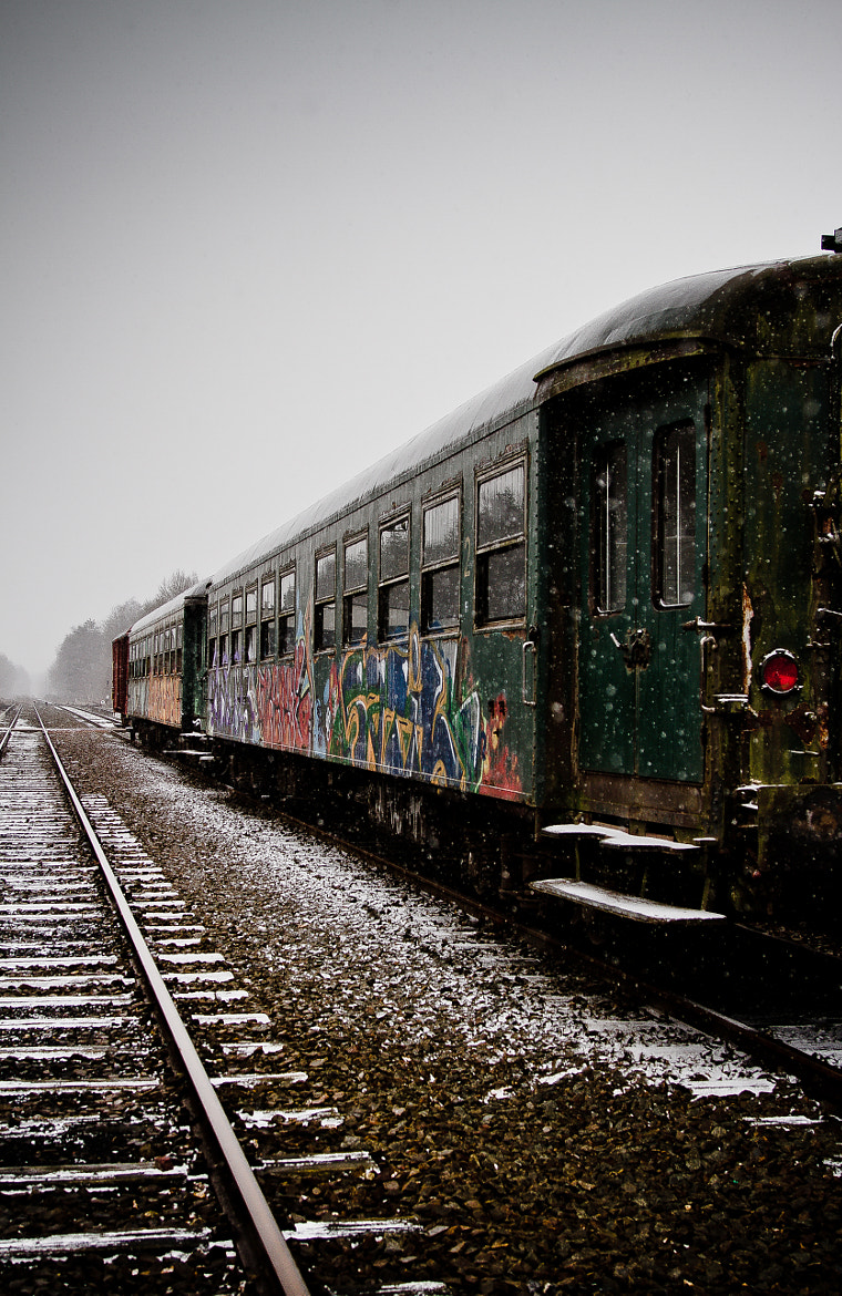 Photograph Old train by Inge Schreurs on 500px