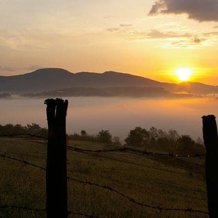 Sunrise, Pentax *IST DL, smc PENTAX-DA 18-55mm F3.5-5.6 AL