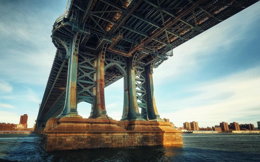 Manhattan Bridge, автор — Dirk Seifert на 500px.com