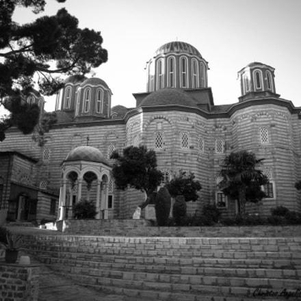 Holy Monastery of Xenophontos-Ag.Oros-Greece, Nikon COOLPIX L100