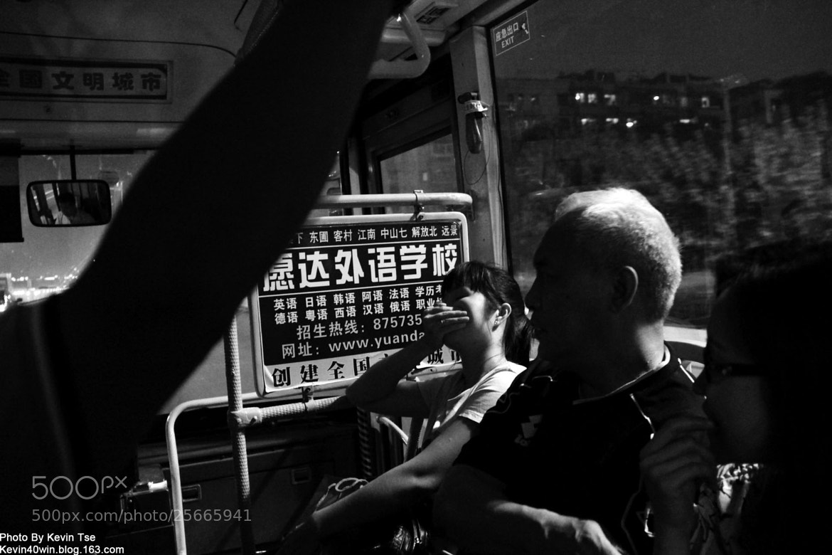 Photograph In the bus! by Kevin Tse on 500px