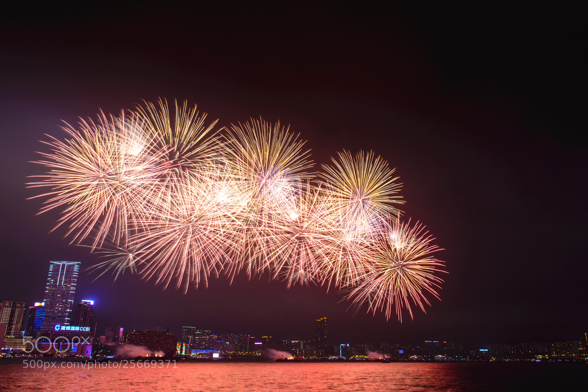 Photograph Chinese New Year Firework 2013 by Hei Yu on 500px